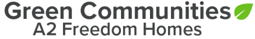 Green Communities | A2 Freedom Homes logo
