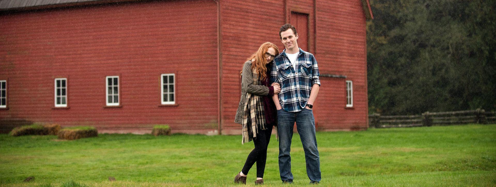 Happy Hills Farm owners, Ella and James