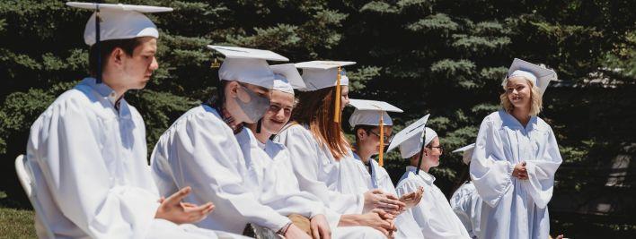 New School High Class of 2020 Graduates