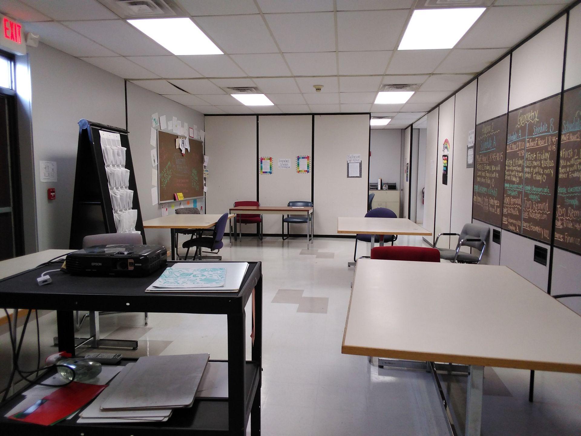 Math classroom