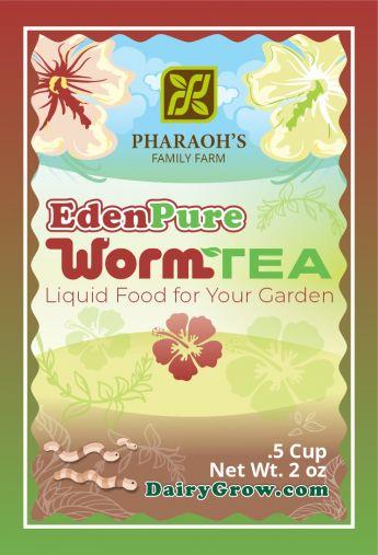 EdenPure Worm Casting TEA
