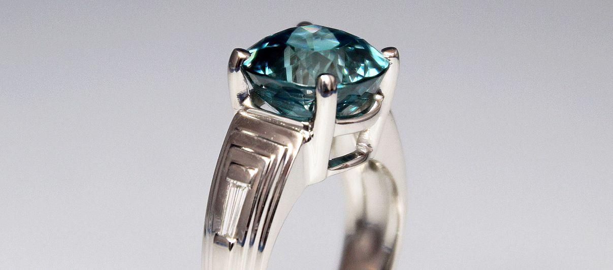 Custom designed ring in Milwaukee, WI