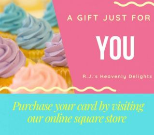 RJ's Heavenly Delights Gift Cards